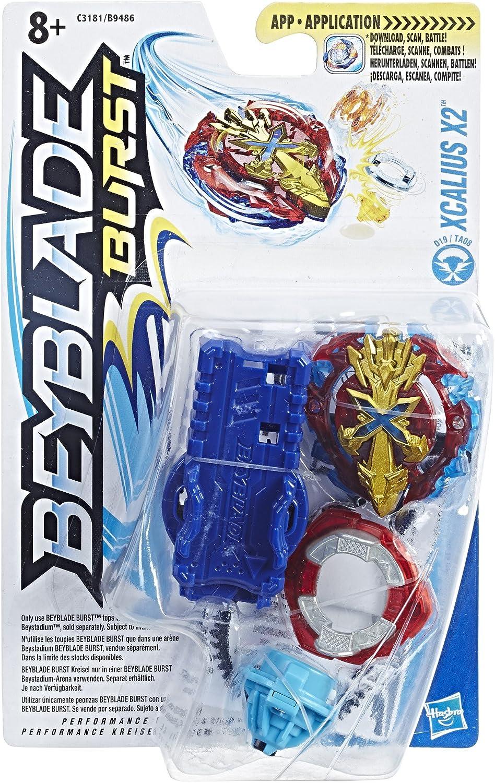 Hasbro- Peonza con Lanzador, Multicolor (9486B): Amazon.es ...