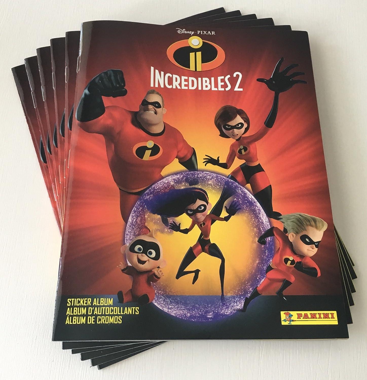 2 Panini Incredibles 2 Sticker No