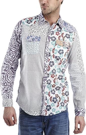 Desigual caribeña para hombre camiseta: Amazon.es: Ropa y accesorios