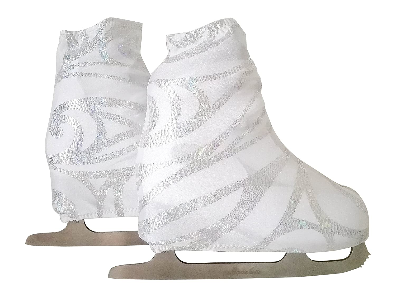 Funda Cubre patines para patinaje artistico sobre ruedas o sobre hielo, impresión ARABESQUE: Amazon.es: Handmade