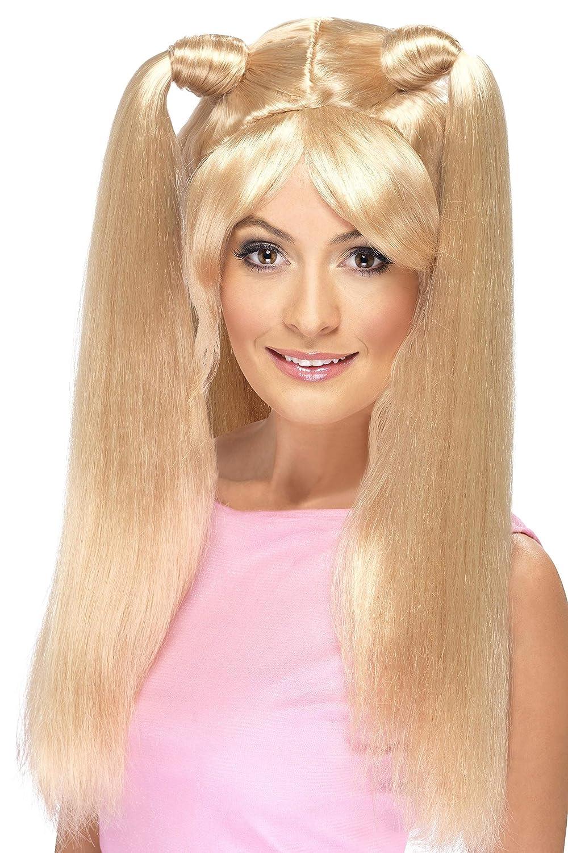 Baby Power Wig Smiffys Baby Power Wig Blonde One Size RH Smith & Sons LTD