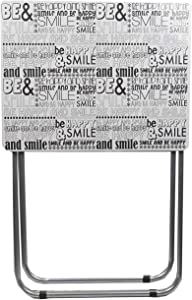 Home Basics Folding Table Tray, Motivational Words