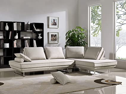 Bergamo Modular Sectional W/Sleeping Sofas In Beige Fabric