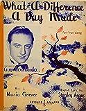 1934 - Edward B. Marks Music Corp - Sheet Music