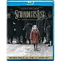 Schindler's List - 25th Anniversary Edition (Blu-ray + Bonus Disc) (2-Disc)