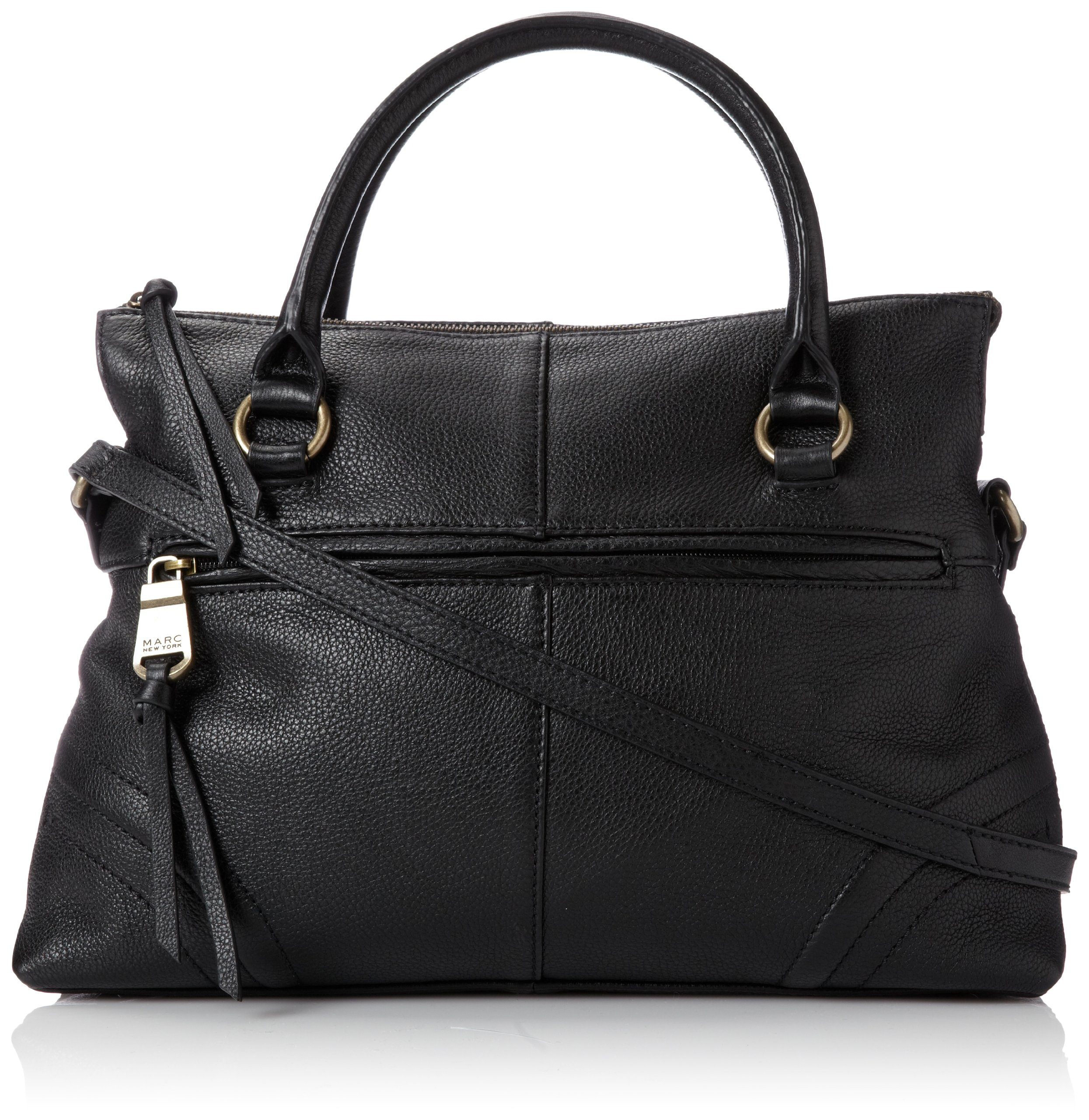 Marc New York Tristen HM3DA288 Top Handle Bag,Black,One Size
