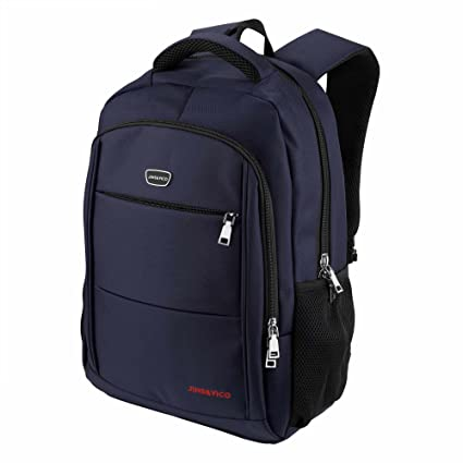 bd4d3dab1a Image Unavailable. Image not available for. Color  JINS VICO Laptop Backpack  Water Resistant Polyester Fabric ...
