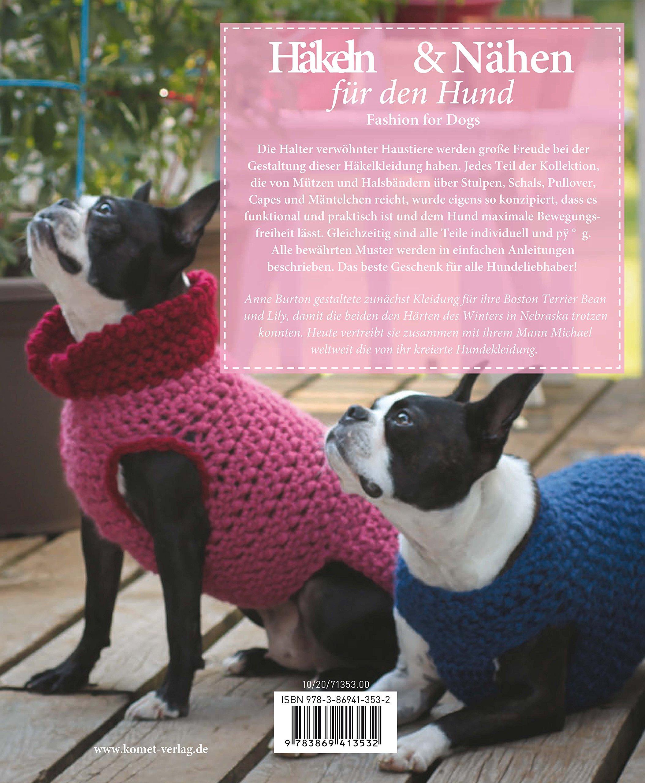 Häkeln Nähen Für Den Hund Fashion For Dogs Amazonde Anne