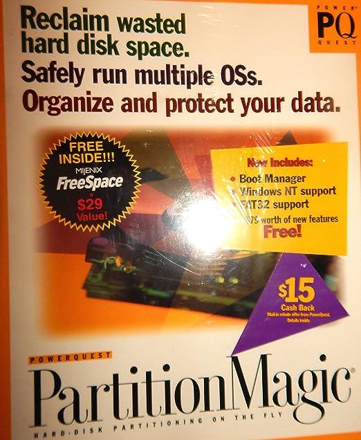 Amazon com: Partition Magic 3 0: Software