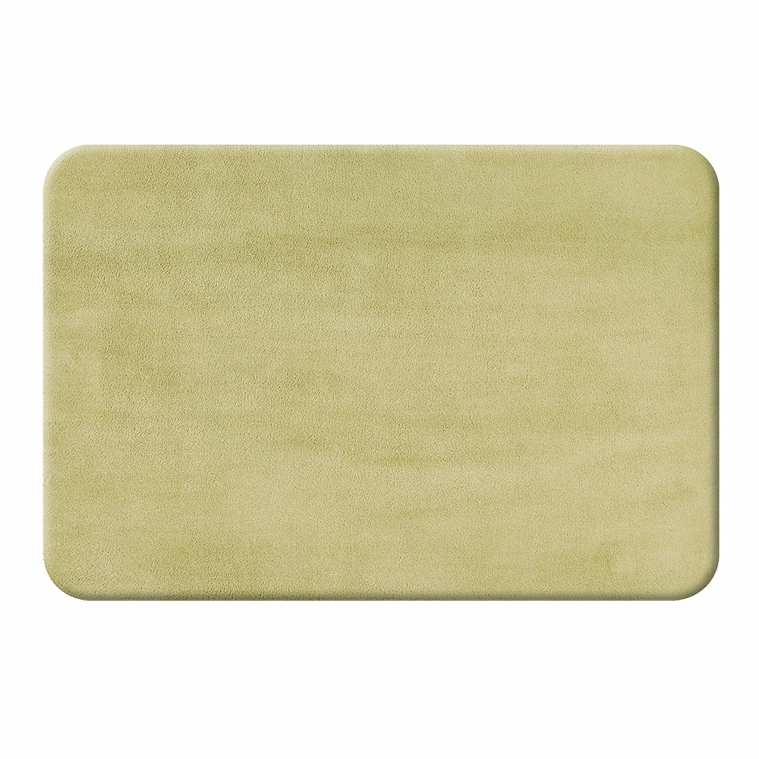 Sleep Innovations Memory Foam Bath Mat, Twin Pack, 20-Inch by 32-Inch, Sandy Shore Taupe, 2-Pack S-BMT-20X32-ST-SST-C