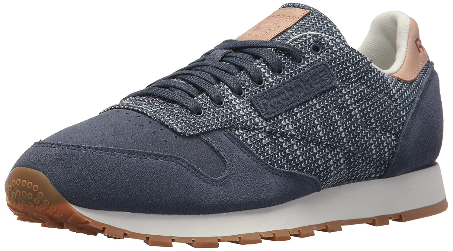 Reebok ReebokCL Leather Ebk   CI Leder Ebk Herren Smoky Indigo/Cloud Grey/C
