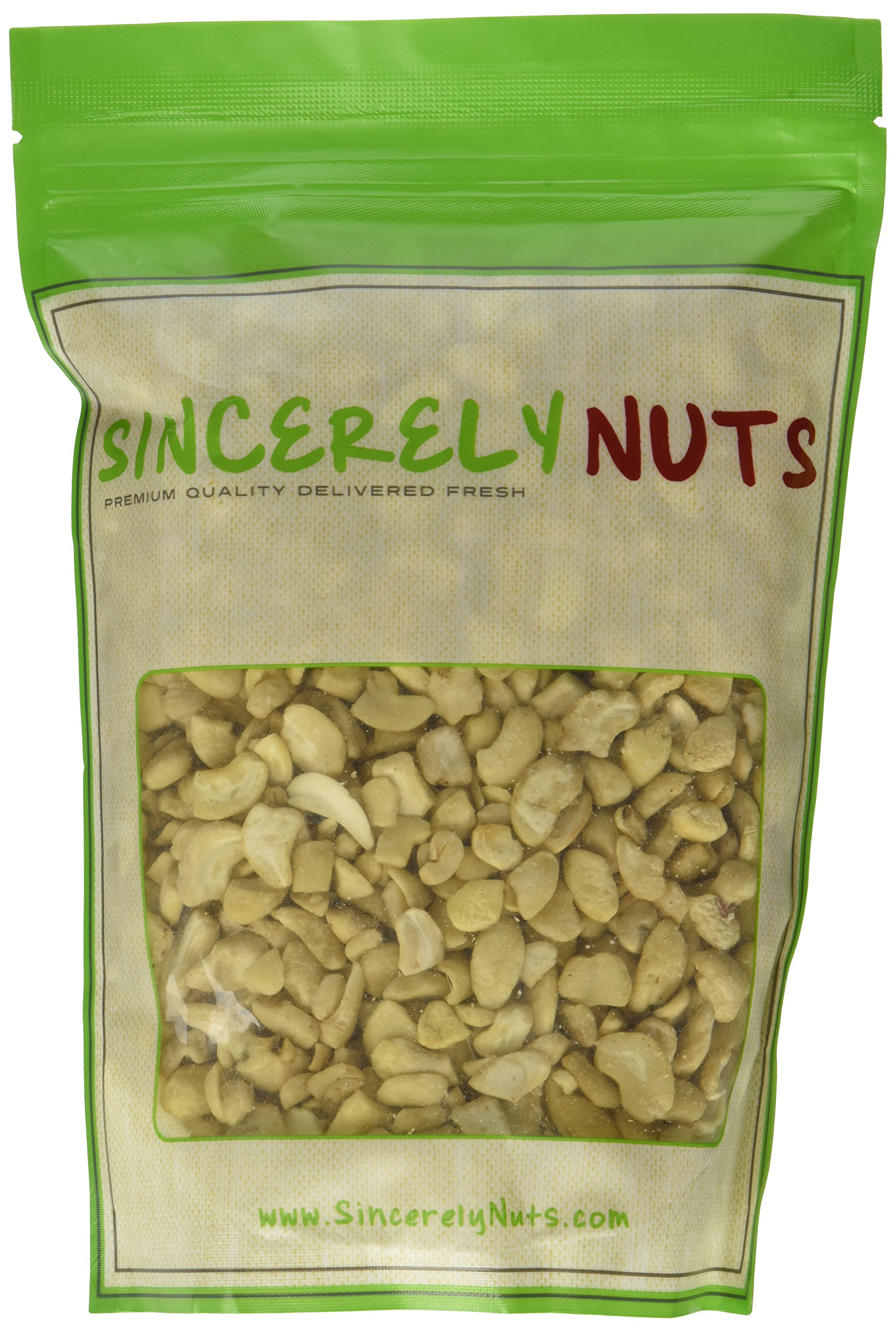Sincerely Nuts Cashew Pieces (Raw) (1 LB)- Vegan, Keto, Paleo and Gluten-free food-Add to Your Favorite Recipes-Nutritious and Delicious On-the-Go Snack-High in Beneficial Vitamins and Minerals by Sincerely Nuts (Image #2)