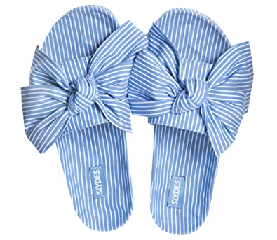 c9c3d784ffb Slydes Brighton Stripe Women s Slider Sandals  Amazon.co.uk  Shoes ...