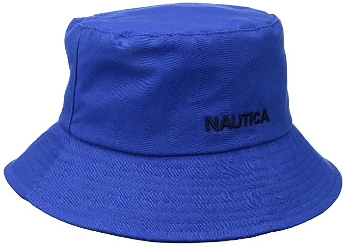 15fc951bf51 Nautica Men s Logo Bucket Hat