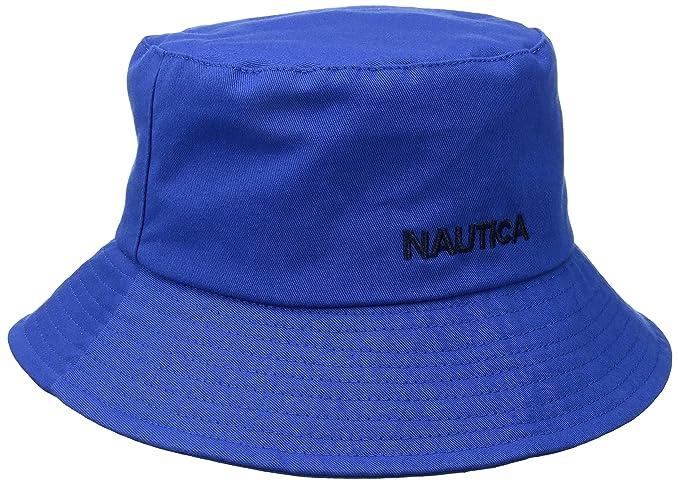 Nautica Men s Logo Bucket Hat 51cd0df88f3a