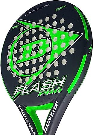 Amazon.com: Dunlop Flash Pro Padel Raqueta de tenis Tenis ...