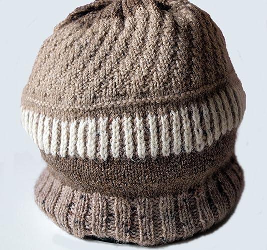 Cappello   berretto   cuffia in pura lana merino e alpaca multicolore 004cbe63426a