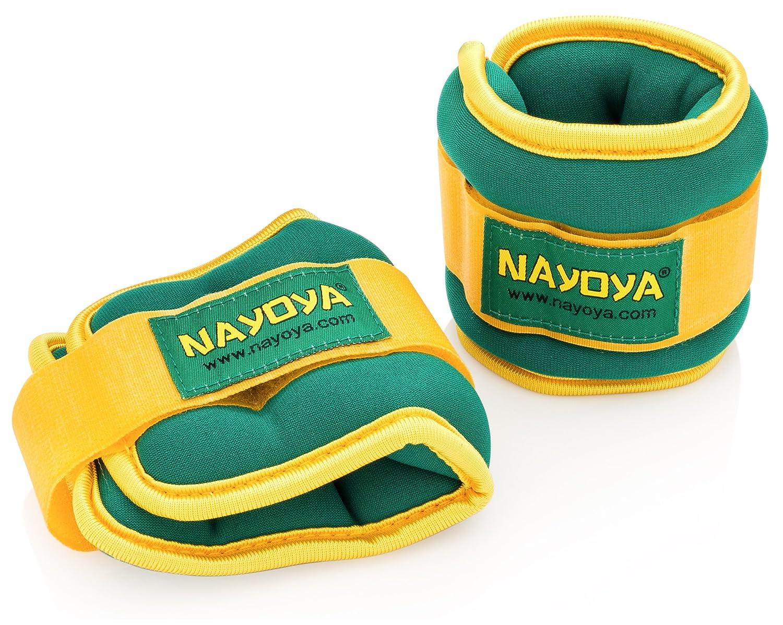 Nayoya 3 Pound Adjustable Ankle Weights Set