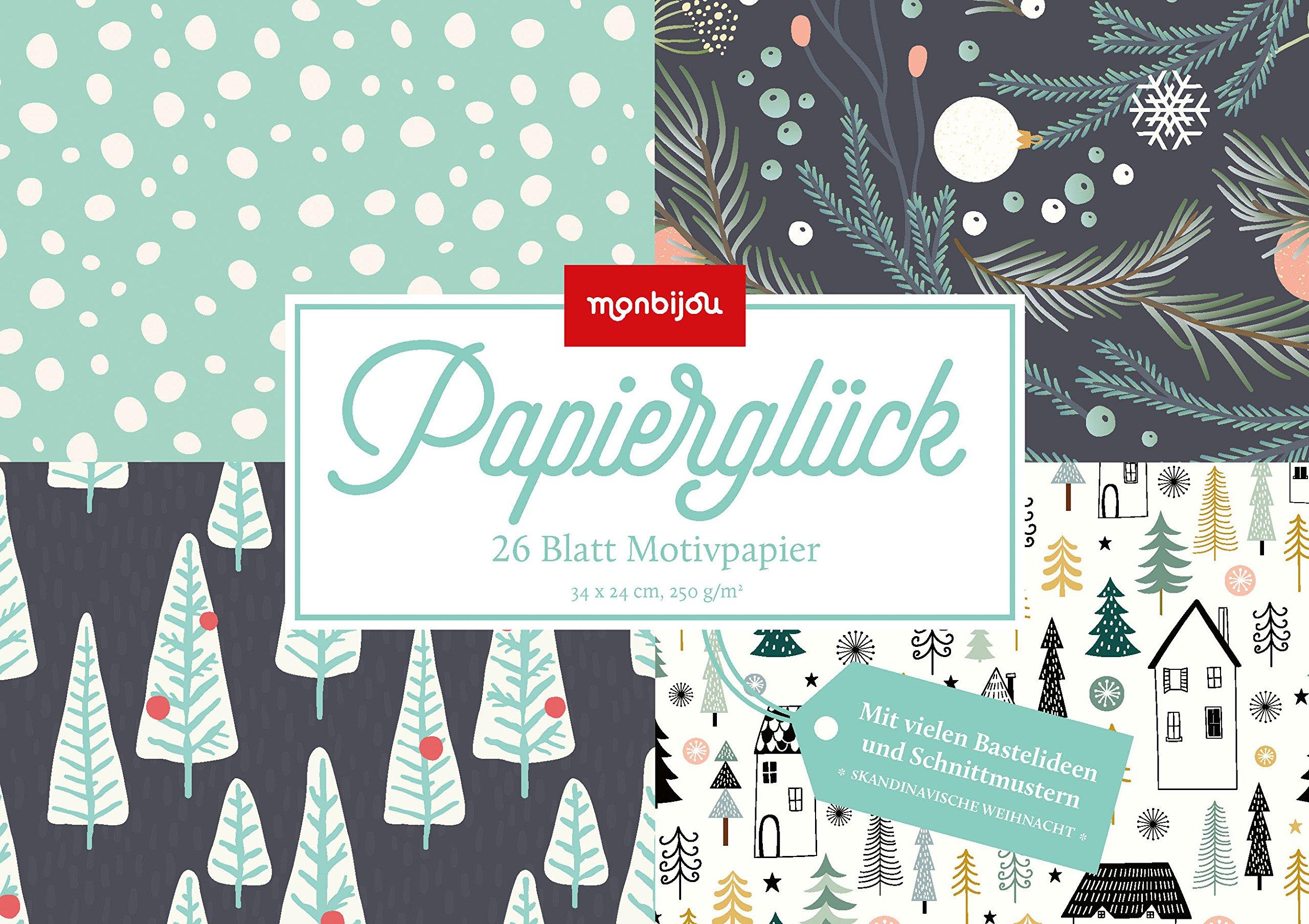 Papierglück - Design Weihnachten skandinavisch: Motivpapier (monbijou)