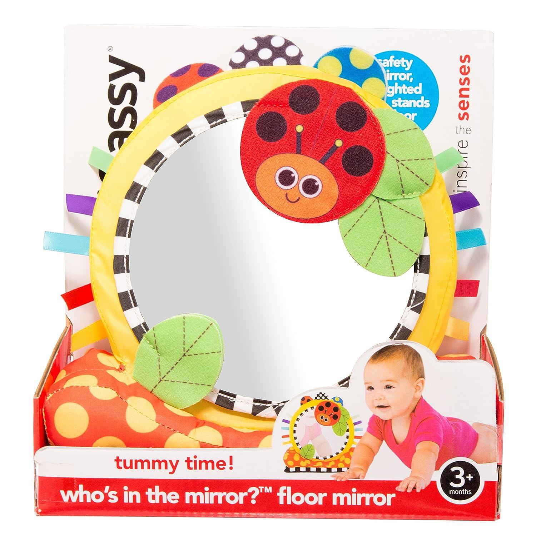 Amazon.com : Sassy Soft Floor Mirror Toy : Baby