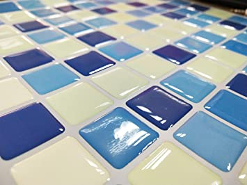 Mattonelle gel adesive effetto mosaico d possono essere