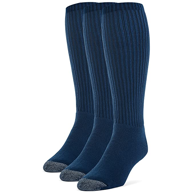Galiva Calcetas extra suaves de algodón para hombre, Calcetines Altos, Calcetines Hasta la Rodilla