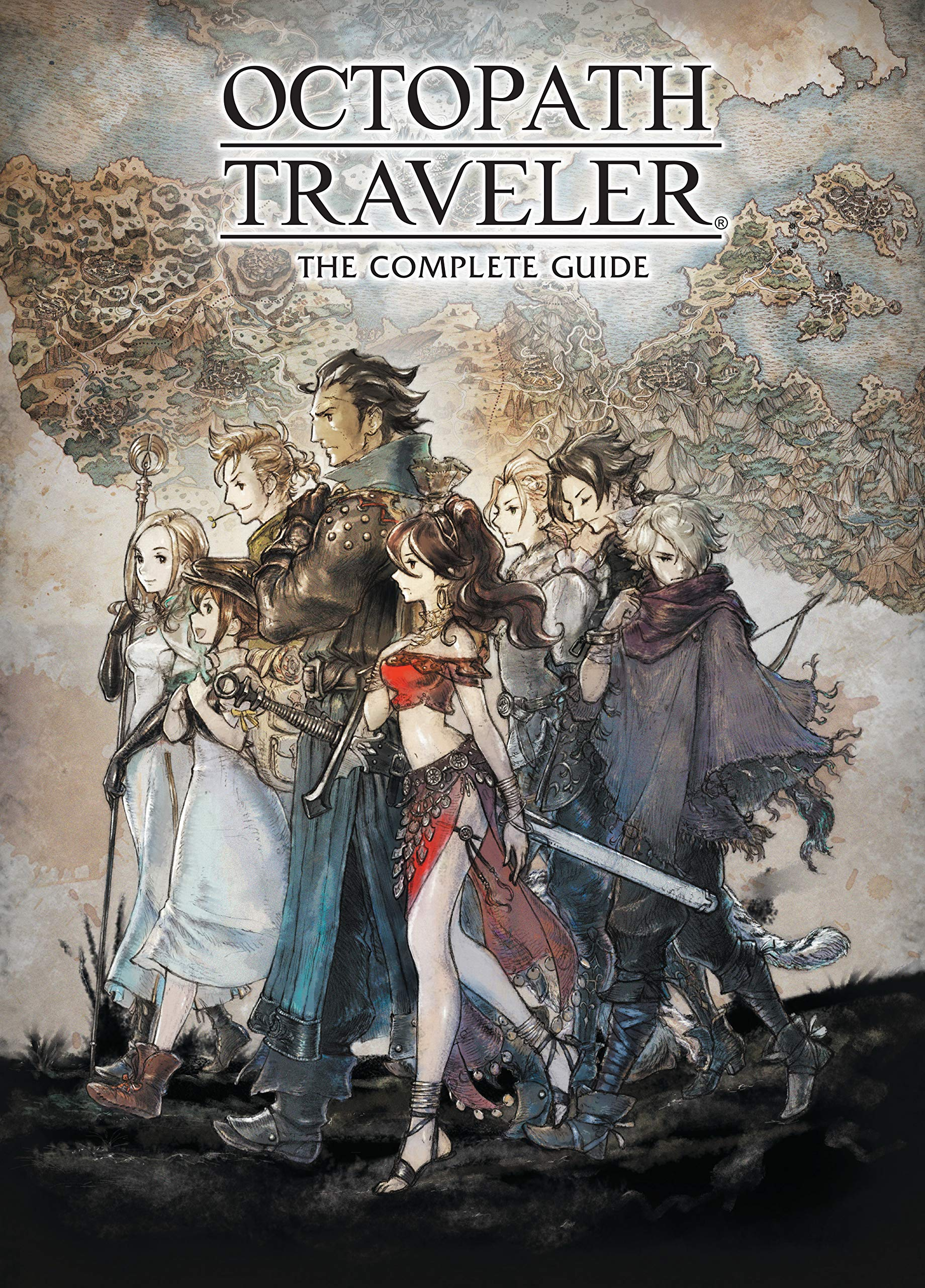 Octopath Traveler: The Complete Guide: Amazon.es: Square Enix ...