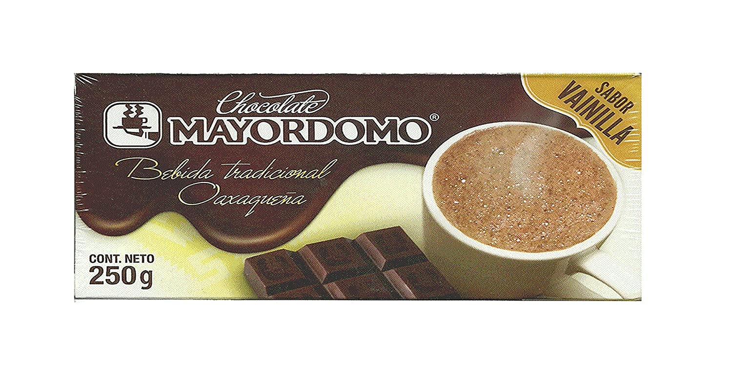 Amazon.com : Chocolate El Mayordomo. The taste of Oaxaca (Classic 100% Natural, 500 gr) : Grocery & Gourmet Food