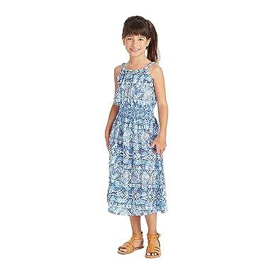 4416c4bcd Amazon.com  Masala Kids Girls  Maxi Dress  Clothing