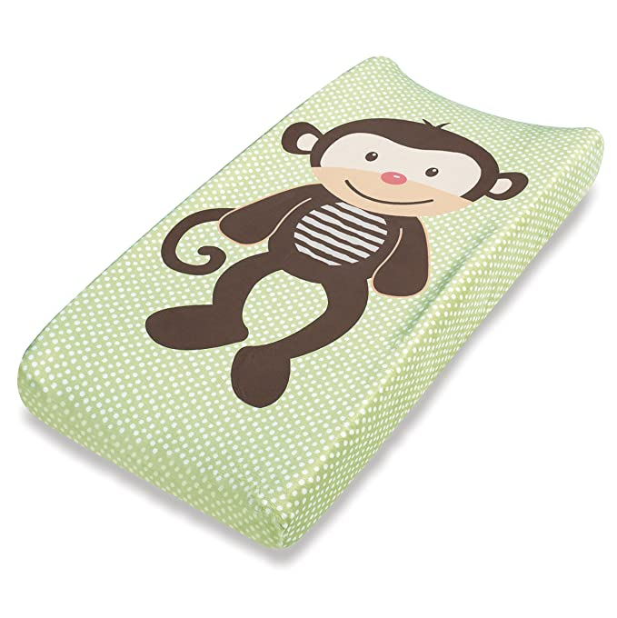 Summer Infant Plush Pals Changing Pad Cover Green/Brown (Monkey) Diaper Covers at amazon