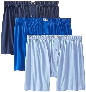 60c41309d1b8e1 2(X)IST Mens Essential Cotton 3 Pack Knit Boxer at Amazon Men s Clothing  store
