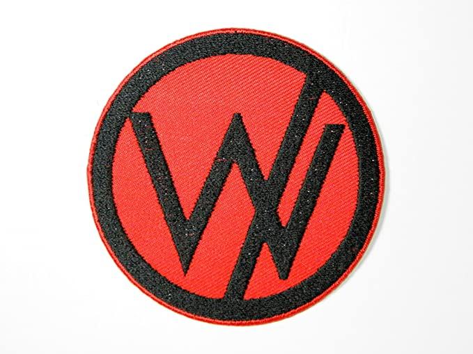 Amazon Sleeping With Sirens Red Logo Iron On Sew On Embroidered