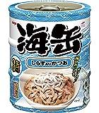 アイシア 海缶 ミニ3P しらす入りかつお 60g×3P
