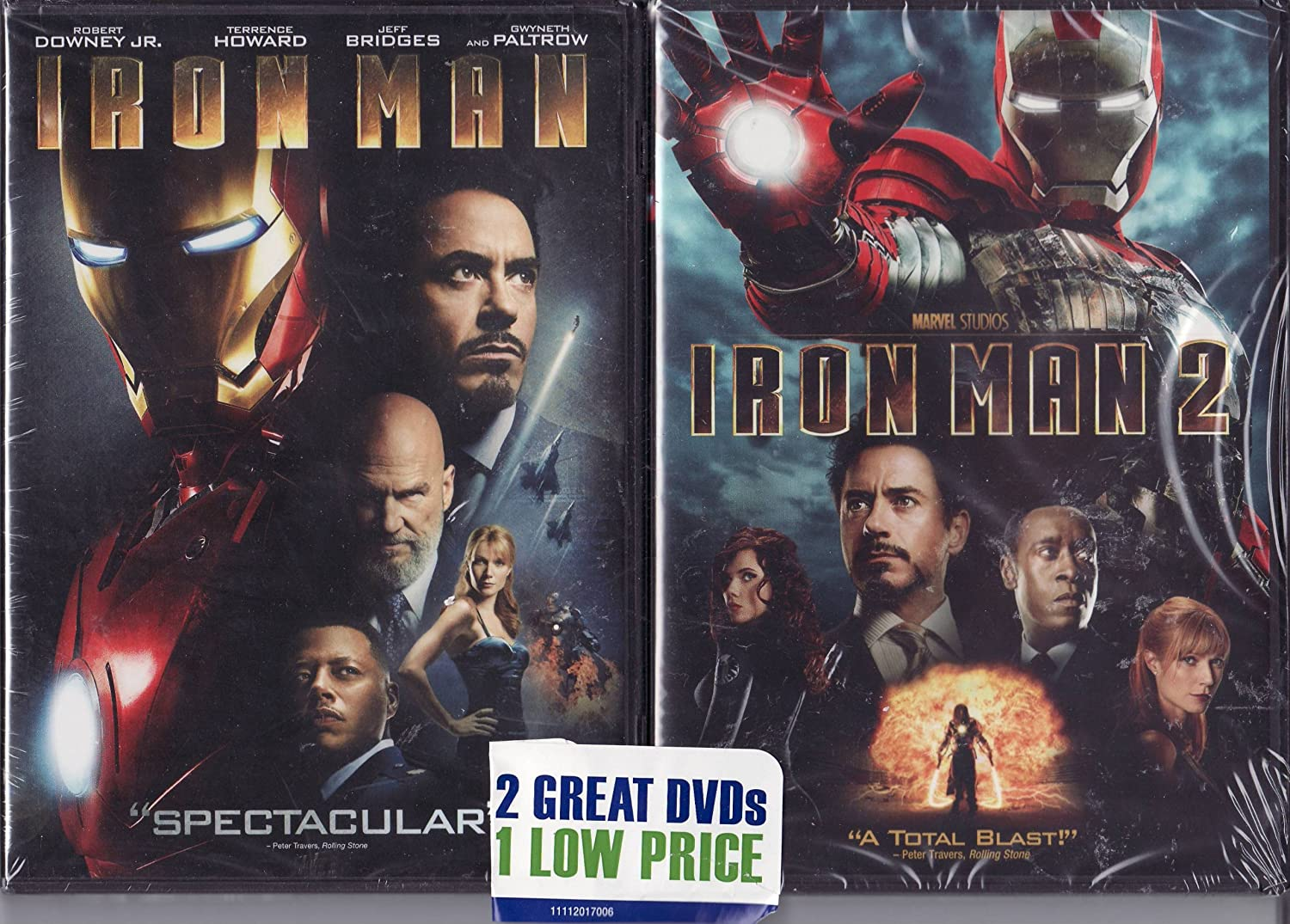 Iron Man / Iron Man 2 LIMITED EDITION 2 PACK DVD SET: Amazon.es: Cine y Series TV