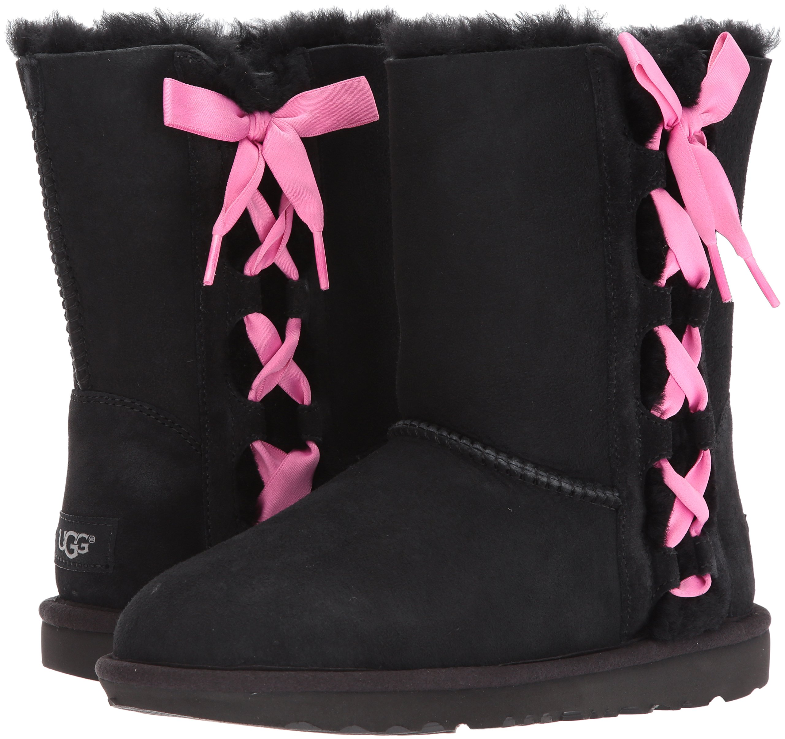 UGG Girls K Pala Pull-on Boot, Black, 1 M US Little Kid by UGG (Image #6)
