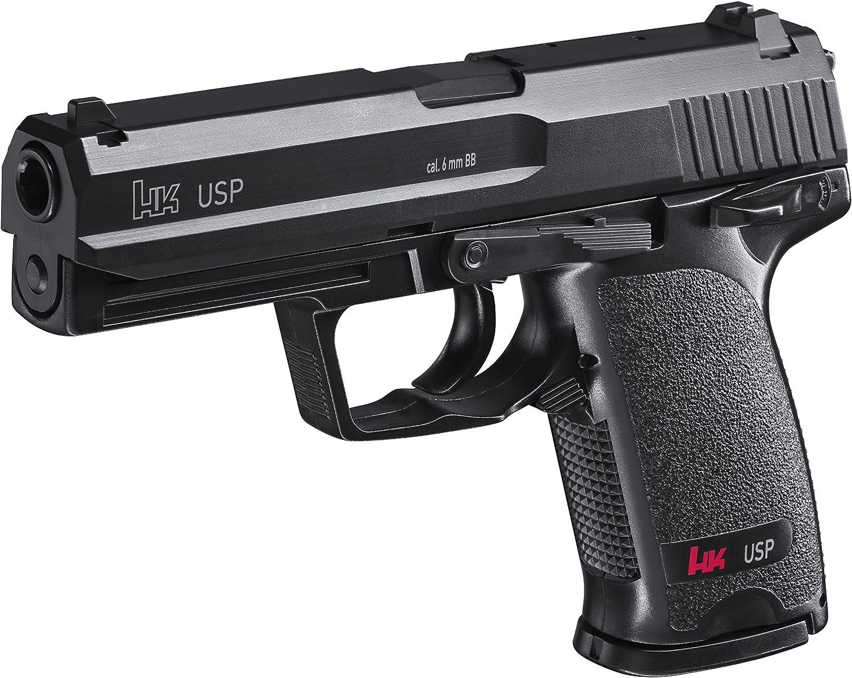Airsoft Gun Heckler & Koch Black Usp Spring (0,5 julios)