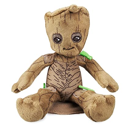 14599bac978c Image Unavailable. Image not available for. Color  Marvel Groot Mini  Magnetic Shoulder Plush - Guardians of The Galaxy Volume 2412348407265
