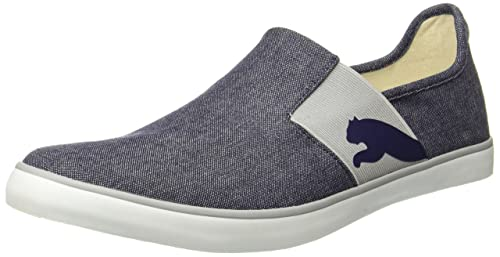 2459268d8f9a8e Puma Unisex s Lazy Slip On Ii Dp Peacoat White-Quarry Sneakers-11 UK ...