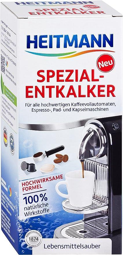 Heitmann - Descalcificador para cafeteras automáticas: Amazon.es: Bricolaje y herramientas