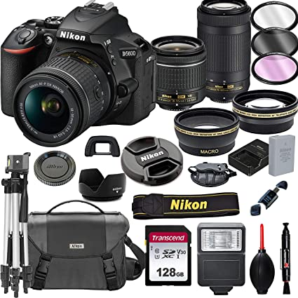 Amazon.com: Nikon D5600 - Cámara réflex digital con lentes ...