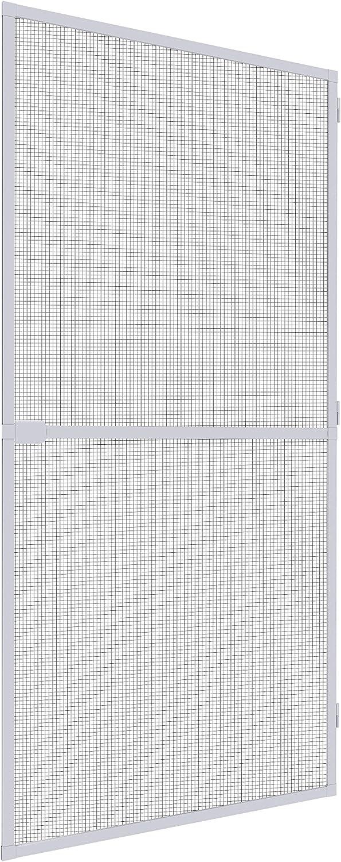 Mosquito Stop Mosquitera de puerta, 1pieza, 100x 210cm, color blanco, 23588