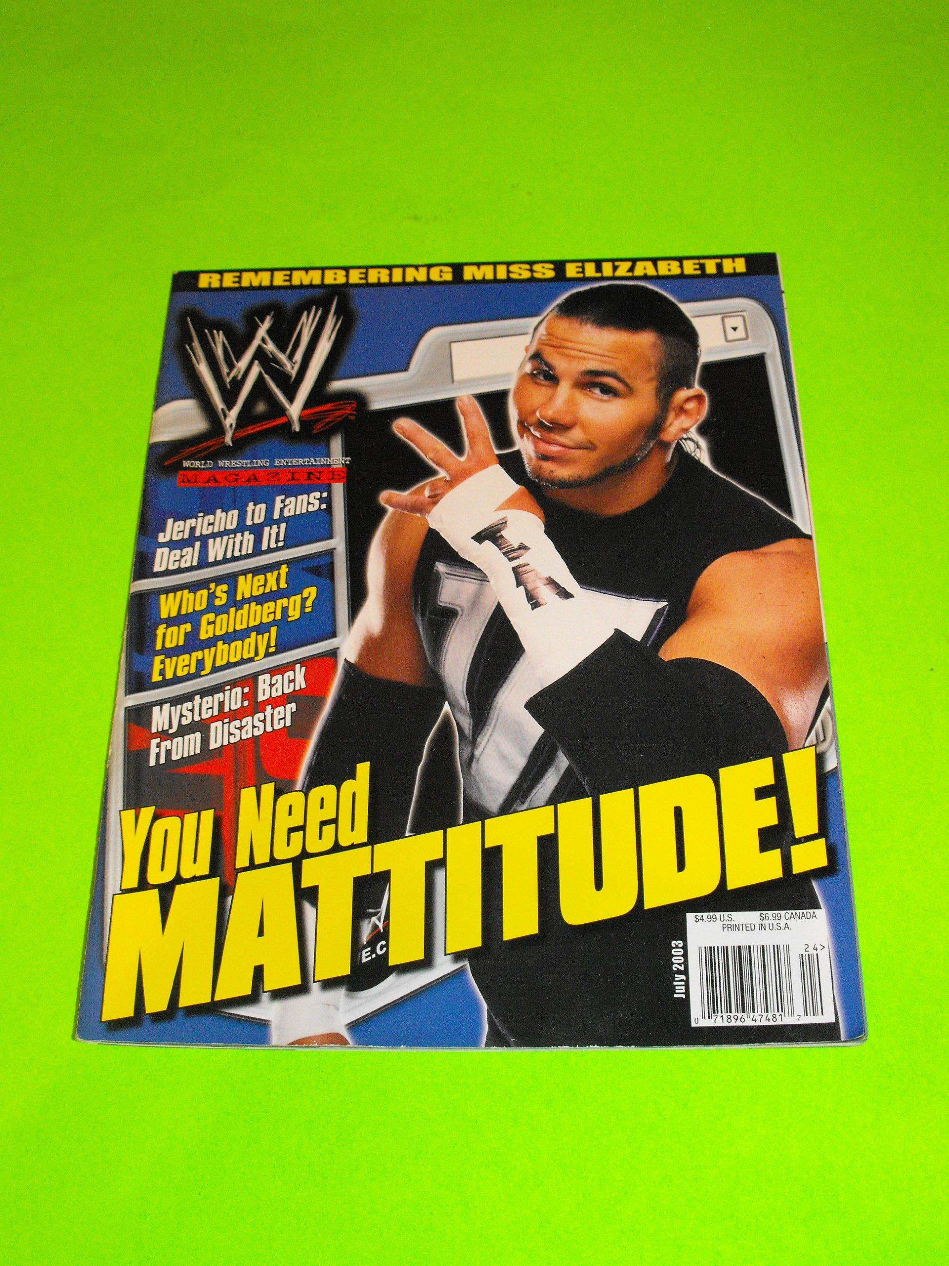 Download Matt Hardy (WWF - WWE Magazine - July 2003) pdf