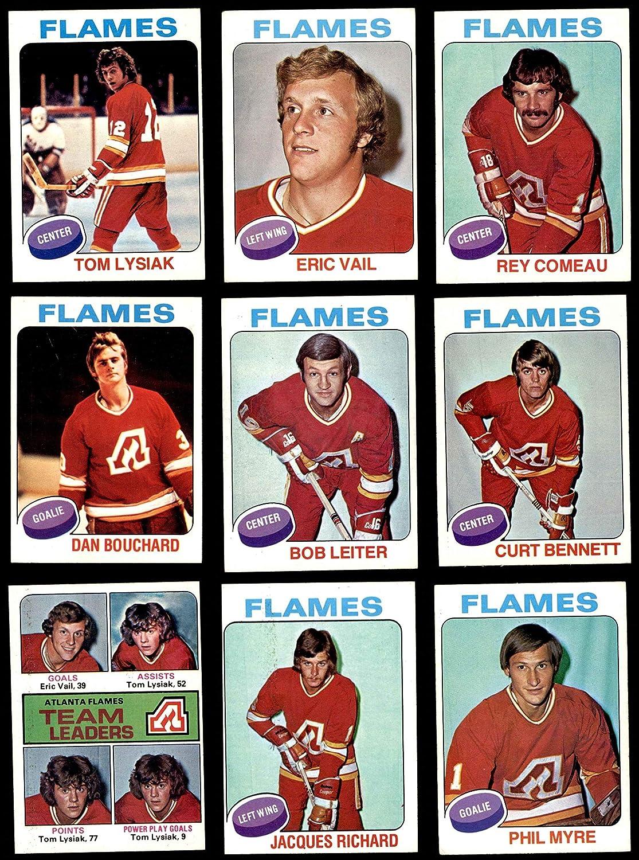 1975-76 Topps Calgary Flames Team Set Atlanta Flames (Baseball Set) Dean's Cards 5 - EX Flames 91gGCzaJwUL