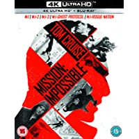 Mission Impossible 1-5 Boxset [Blu-ray] [2018] [Region Free]