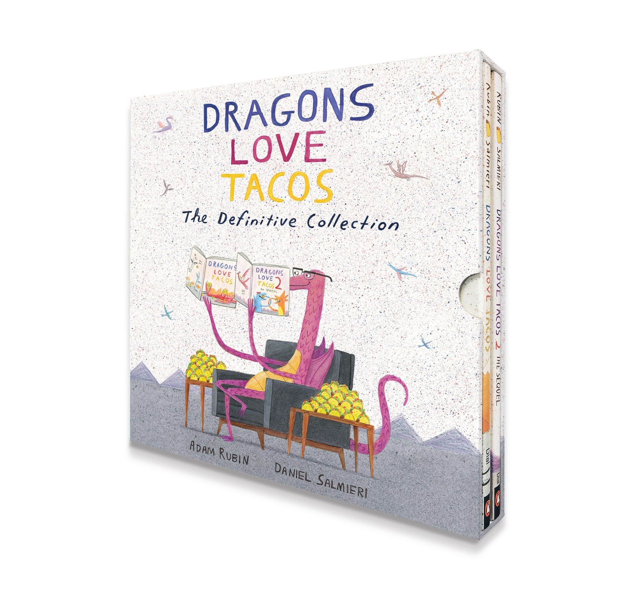 Dragons Love Tacos: The Definitive Collection: Adam Rubin, Daniel Salmieri:  9780735230170: Amazon.com: Books