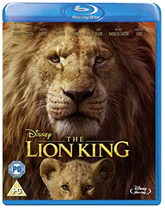 Disneys The Lion King Blu Ray 2019 Region Free Amazonco