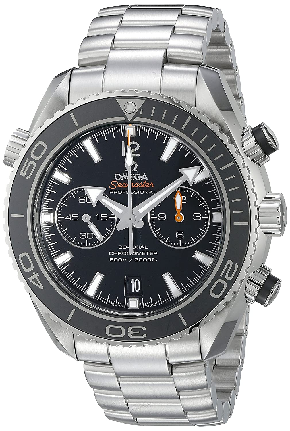Omega Seamaster Planet Ocean - Reloj (Reloj de Pulsera, Masculino, Acero Inoxidable, Acero Inoxidable, Acero Inoxidable, Acero Inoxidable): Amazon.es: ...