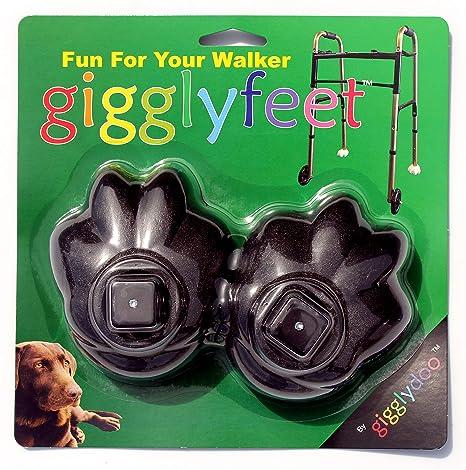 Amazon.com: Pies gigglyfeet de MEDA Nova Fun Walker Feet ...