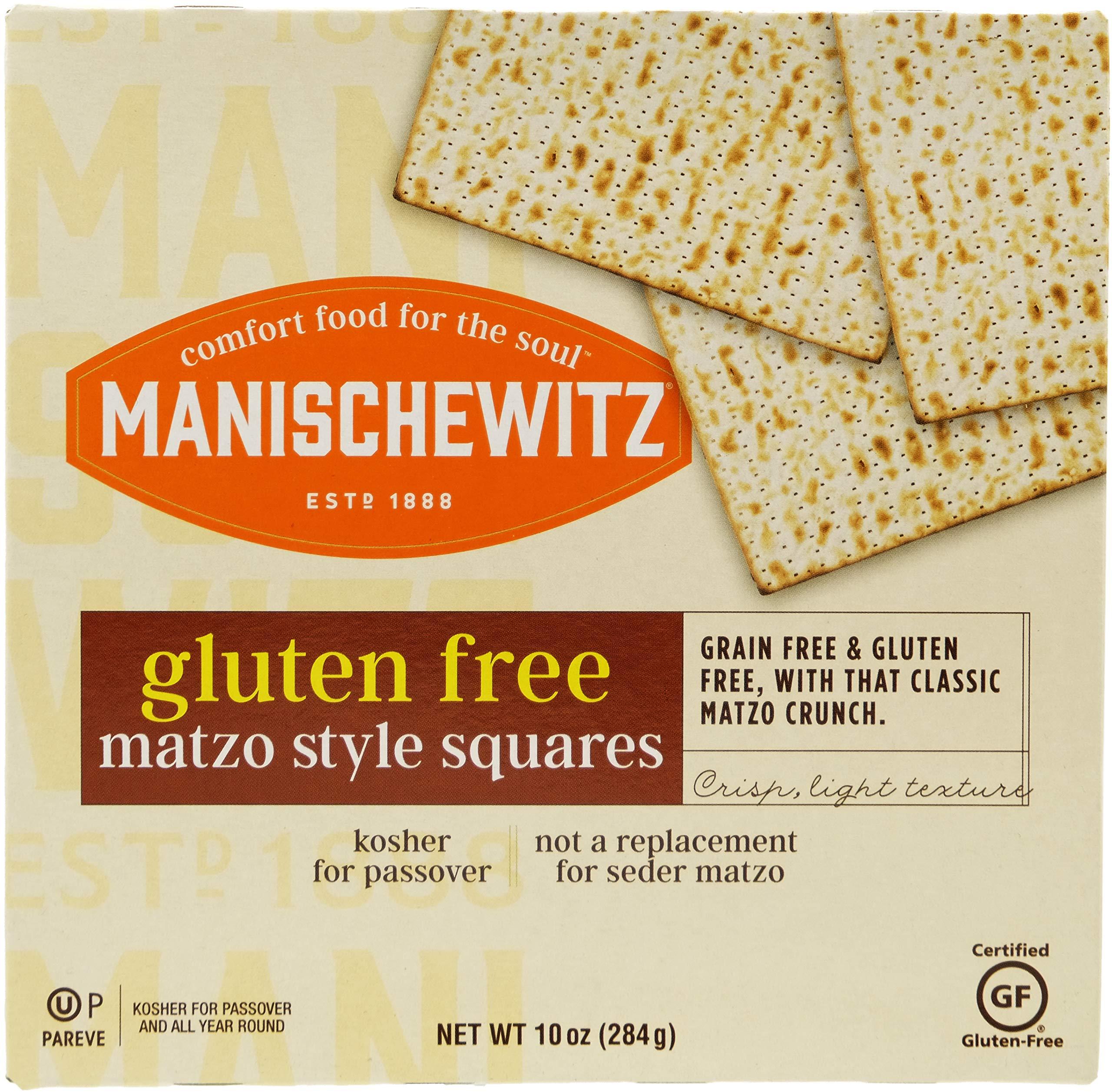 Manischewitz All Natural Gluten-Free Matzo Style Squares, 10 Ounce
