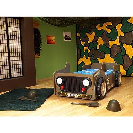Colchón para cama infantil Muebles Infantiles Auto Jeep Marina ...